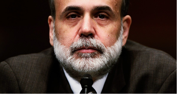 "Ben ""The Shadow"" Bernanke"