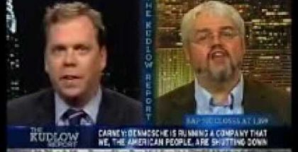 Jerry Bowyer on The Kudlow Report, November 11th, 2009