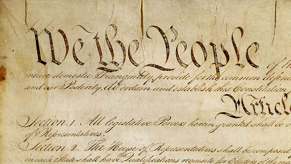Photo: United States Constitution