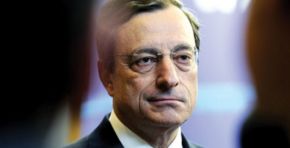 Mario Draghi, President of the European Central Bank (Photo by Getty Images)