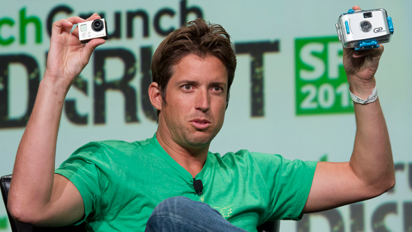 Nick Woodman, founder and CEO of GoPro. (Photo by David Paul Morris / Getty Images)