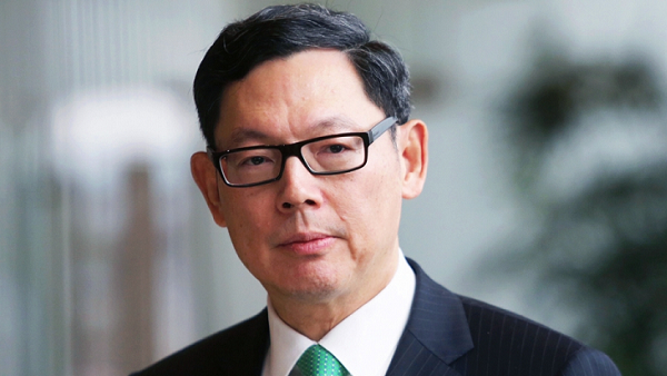 Norman Chan, Chief Executive of the Hong Kong Monetary Authority. (Photo by Sam Tsang)