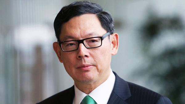 Norman Chan, Chief Executive of the Hong Kong Monetary Authority. (Photo by Sam Tsang)