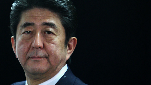 Prime Minister of Japan Shinzō Abe (Photo by Getty Images)
