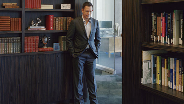 Peter Thiel, author of Zero to One and founder of PayPal (Photo by Olivia Poppy Cole)