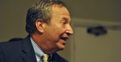 Former Secretary of the Treasury Larry Summers