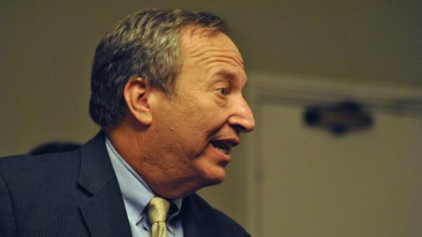 Former Secretary of the Treasury Larry Summers