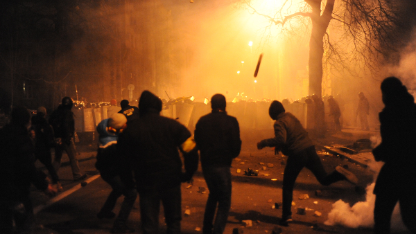 Ukraine Riots 2013