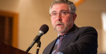 Paul Krugman (Professor of Economics and International Affairs at Princeton University)