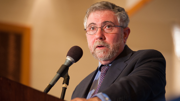 Paul Krugman (Professor of Economics and International Affairs at Princeton University)