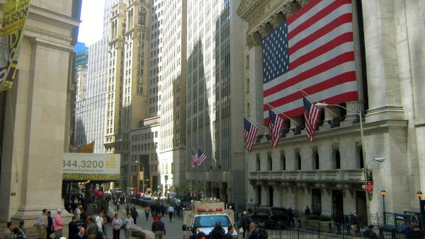 Wall Street, New York NY
