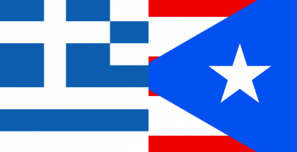 Greece and Puerto Rico