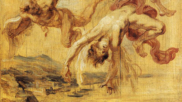 The Fall of Icarus by Peter Paul Rubens (1636)