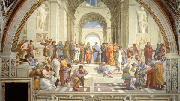 The School of Athens (painted by Raphael)