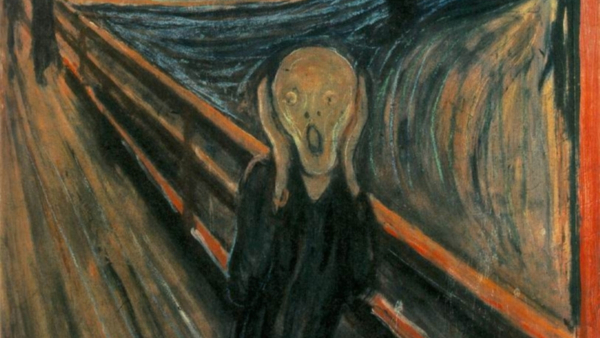 The Scream (Painted by Edvard Munch) (1893)