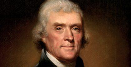Thomas Jefferson (portrait by Rembrandt Peale)