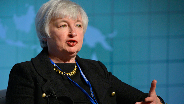 Janet Louise Yellen, Chairman of the Federal Reserve (Photo by Day Donaldson) (CC2.0)