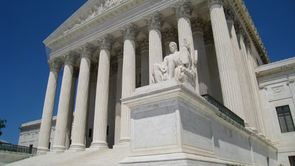 U.S. Supreme Court in Washington D.C.