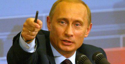 Vladimir Putin (Photo attributed to Kremlin.ru) (CC3.0) (Resized/Cropped)
