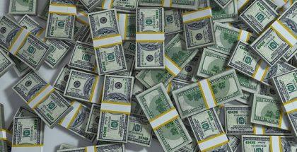 pile of dollars