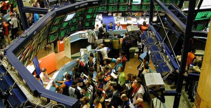 New York Stock Exchange (Photo by Perpetual Tourist) (CC BY) (Resized/Cropped)