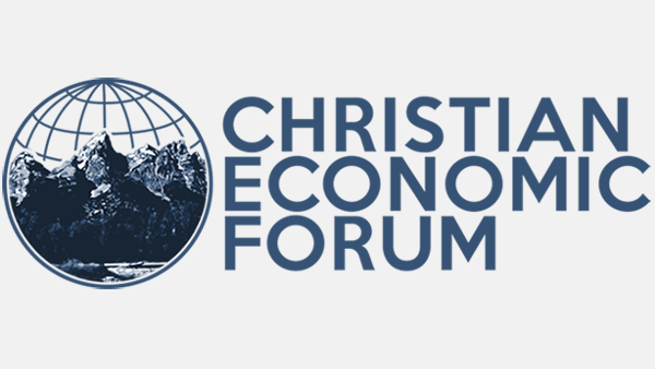 Logo for Christian Economic Forum