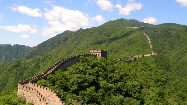 Great Wall of China  (section in Mutianyu, China)