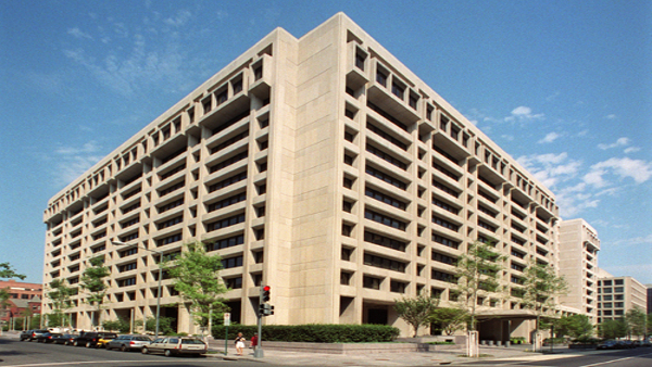 Headquarters of the International Monetary Fund in Washington, D.C.