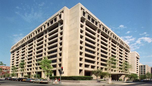 Headquarters of the International Monetary Fund in Washington, D.C.