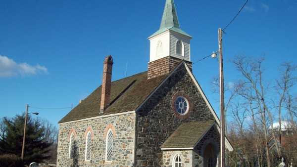 Old Salem Church in Catonsville, Maryland