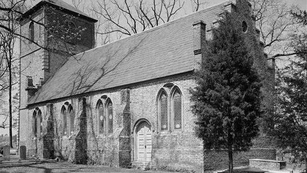 St. Luke's Church in Smithfield, Virginia (built 1632)