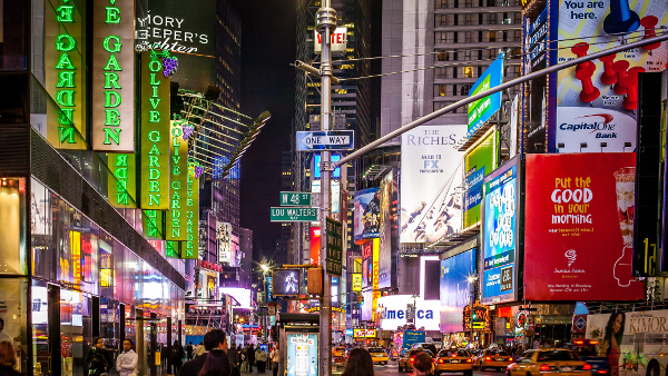 Time Square, New York  (Photo by Kenny Louie) (CC2.0)