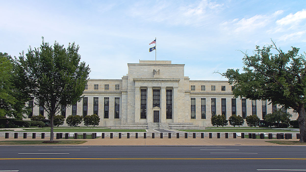 U.S. Federal Reserve Building in Washington D.C. (Photo by Stefan Fussan) (CC BY) (Resized/Cropped)