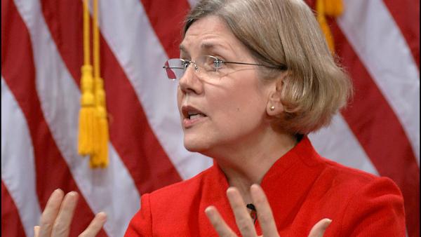 U.S. Massachusetts Senator Elizabeth Warren