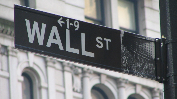 Wall Street Sign (Photo by Ramy Majouji) (CC BY) (Resized Cropped)