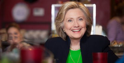 Hillary Rodham Clinton, former U.S. Secretary of State (Photo by Mike Davidson) (CC BY) (Resized/Cropped)