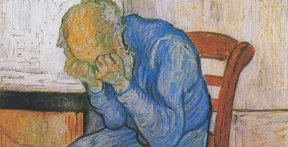 At Eternity's Gate (Painted by Vincent van Gogh) (1890)
