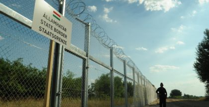 Barrier in Hungarian-Serbian border (Photo by Schmidt Andrea) (CC BY) (Resized/Cropped)