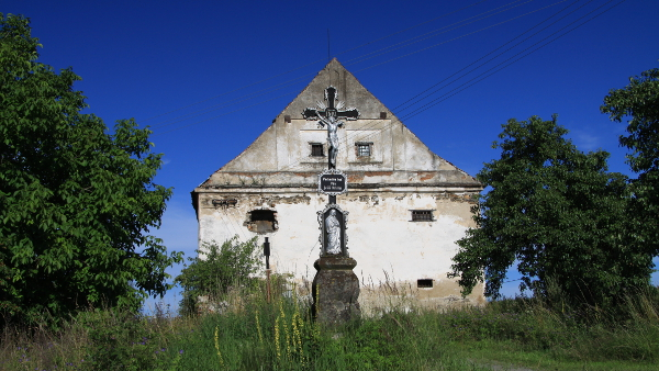 Cross near Tábor District, Czech Republic (Photo by Chmee2) (CC BY) (Resized/Cropped)