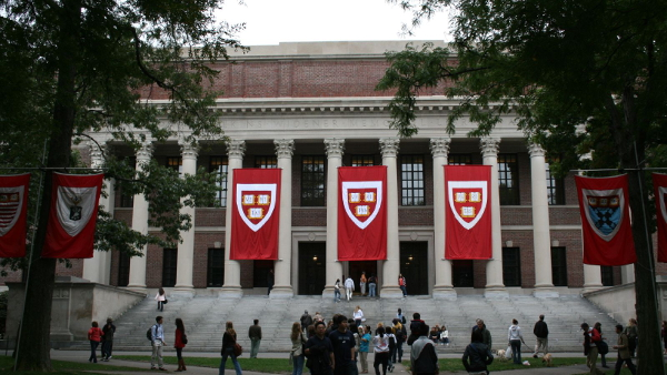 Harvard Univerty Library (Photo by Joseph Williams) (CC BY) (Resized/Cropped)