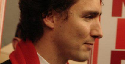 Justin Trudeau, next Prime Minister of Canada (Photo by ycanada_news) (CC BY) (Resized/Cropped)