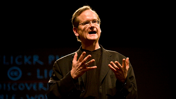 Larry Lawrence Lessig  (Photo by Robert Scoble) (CC BY) (Resized/Cropped)
