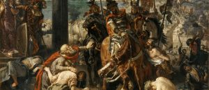 The Entry of the Crusaders into Constantinople (Painted by Eugène Delacroix)
