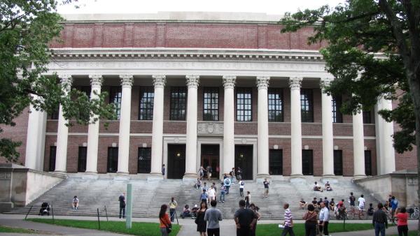 Widener Library, Harvard University, Cambridge (Photo by John Phelan) (CC BY) (Resized/Cropped)
