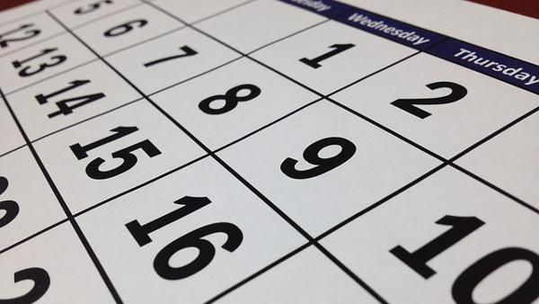 calendar public domain