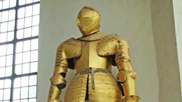 gold armor public domain