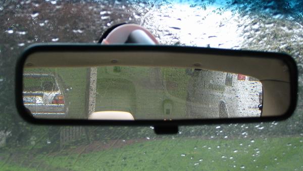 rear-view mirror PUBLIC DOMAIN