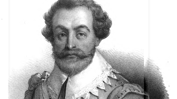 Francis Drake (Drawn by Antoine Maurin) {{PD-1923}}