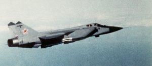 Soviet MiG-31 Foxhead aircraft PUBLIC DOMAIN