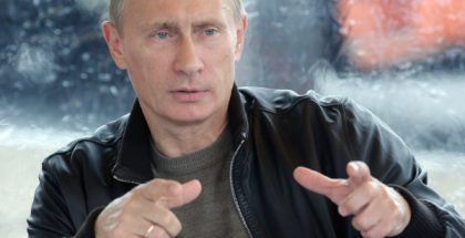 Vladimir Vladimirovich Putin, President of Russia (Photo by kremlin.ru) (CC BY) (Resized/Cropped)